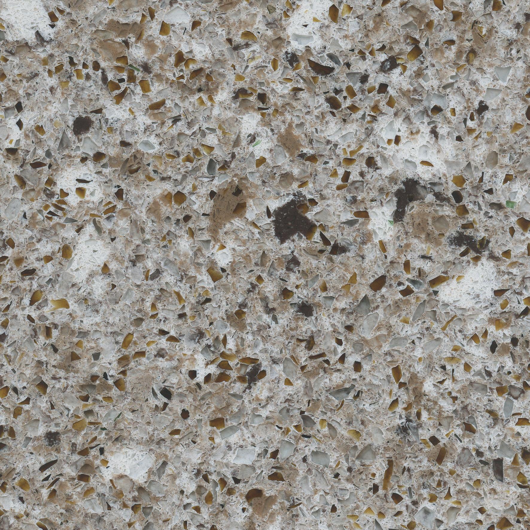 Forest snow eco recycled quartz countertop colonial - Silestone o granito ...