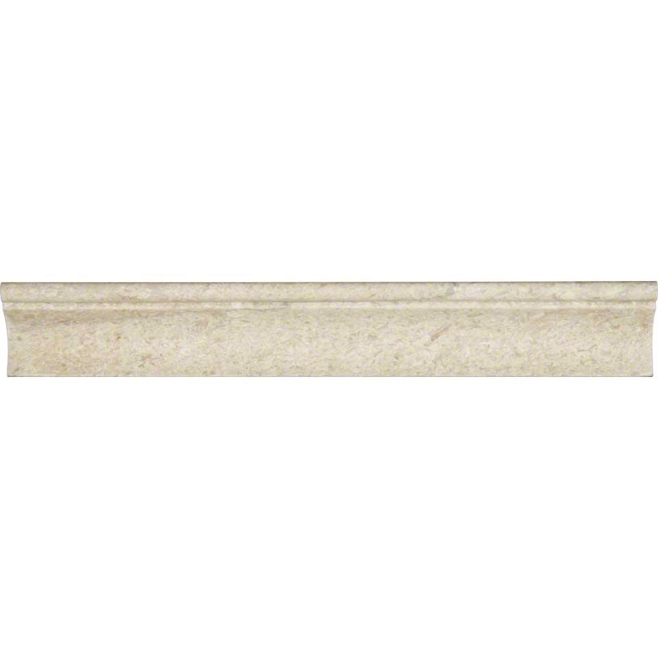 Coastal Sand Cornice Molding Honed Colonial Marble Granite