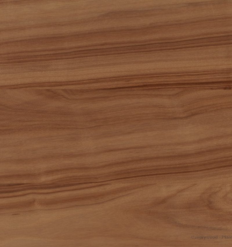 Canarywood Plank Countertop