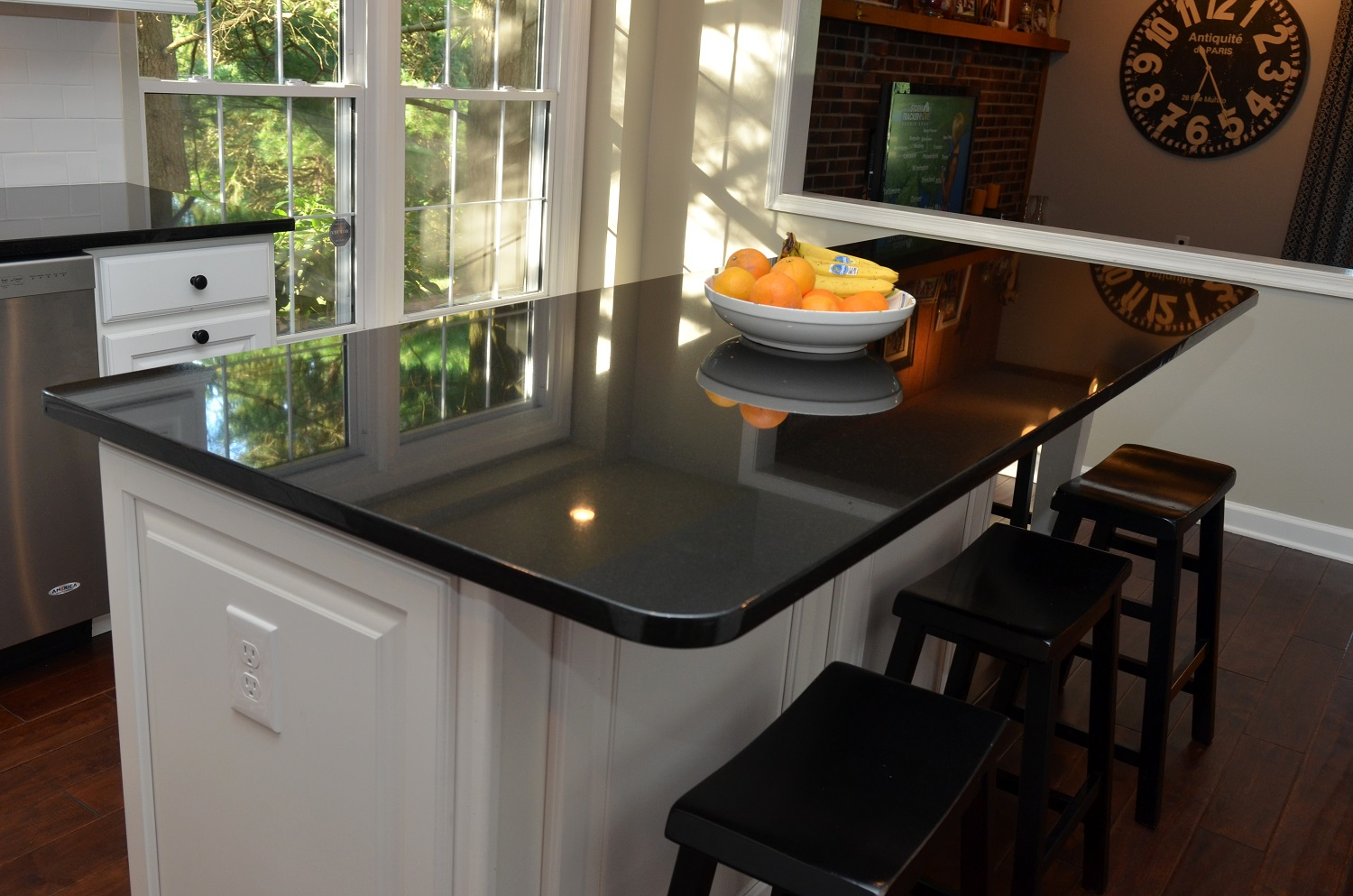 Absolute Black Granite Countertop Colonial Marble Amp Granite