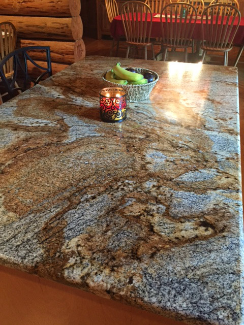 A gorgeous Lapidus Granite Island